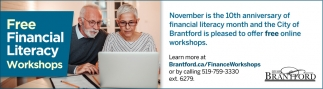 FREE Financial Literacy Workshops