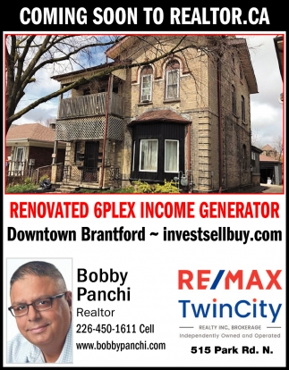 Coming Soon to Realtor.Ca