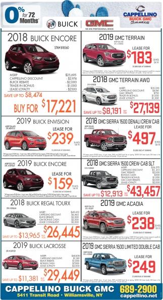 Warsaw Buick Gmc >> 2018 Buick Encore , Cappellino Buick GMC, Williamsville, NY