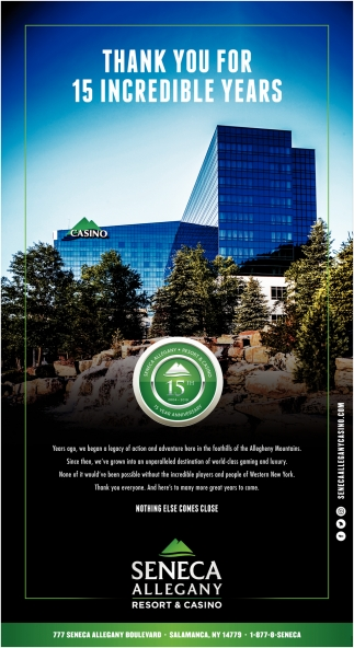Seneca Allegany Resort & Casino Salamanca