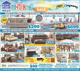 Summer Sale Home Decor Outlets Buffalo Ny