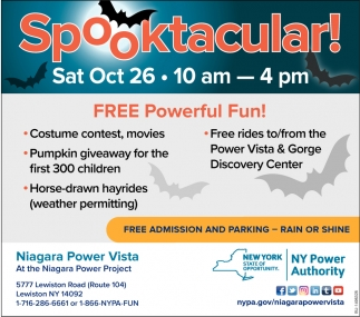 Spooktacular Niagara Power Vista Lewiston Ny 12 day lewiston weather forecast. buffalo news ads marketplace