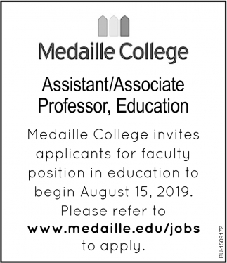 Assistant/ Associate Professor