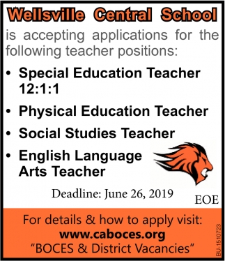 Teachers Needed