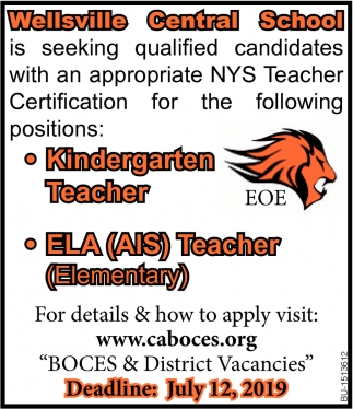 Kindergarten Teacher & ELA (AIS) Teacher