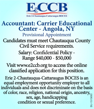 Accountant: Carrier Educational Center
