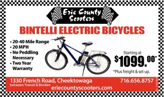 Bintelli Electric Bicycles