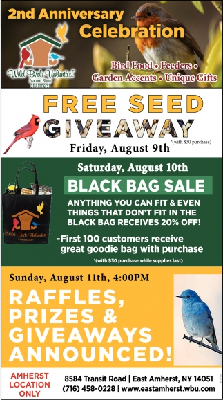 FREE Seed Giveaway