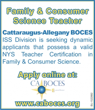 Family & Consumer Science Teacher