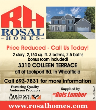 Price Reduced - Call Us Today!