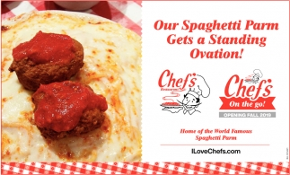Our Spaghetti Parm Gets a Standing Ovation!