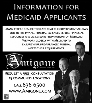 Information for Medicaid Applicants