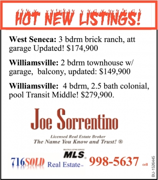 Hot New Listings!
