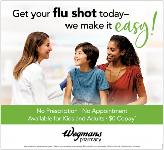 Get Your Flu Shot Today - We Make it Easy!