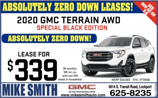 Absolutely Zero Down Leases!