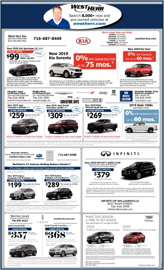 Search 8,000+ New & Pre-Owned Vehicles
