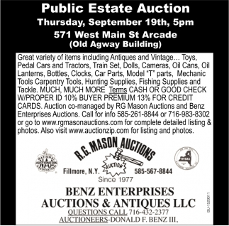 Public Estate Auction