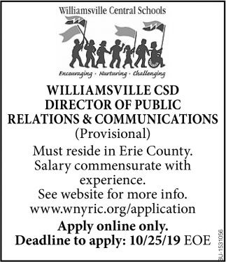 Director of Public Relations & Communications