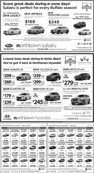 Score Great Deals During N-Zone Days!