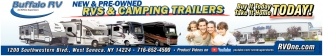 New & Pre-Owned Rv's & Camping Trailers