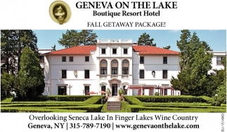 Fall Getaway Package!