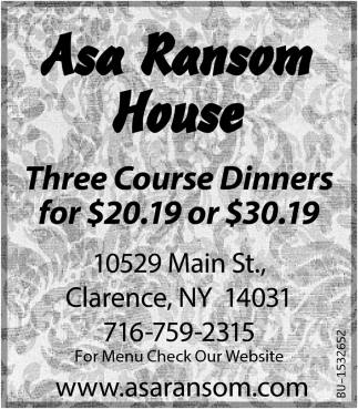 Three Course Dinners for $20.19 or $30.19