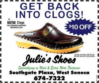 Get Back into Clogs!