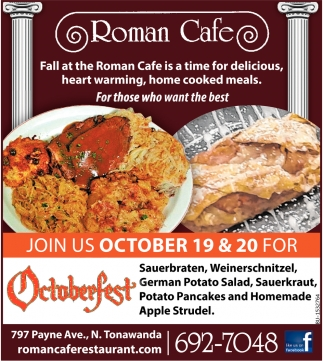Join Us October 19 & 20 for Octoberfest