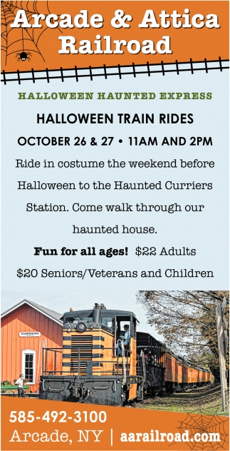 Halloween Haunted Express