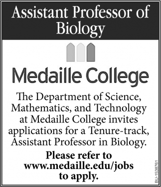 Assistant Professor of Biology