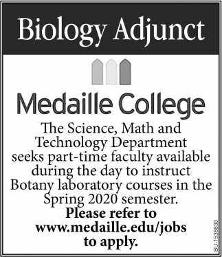 Biology Adjunct