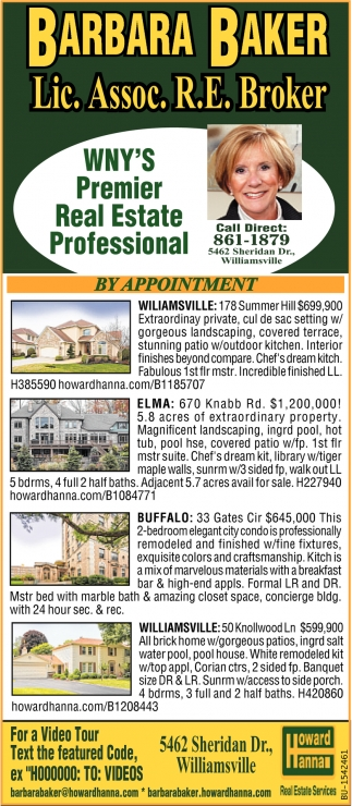 WNY's Premier Real Estate Professional