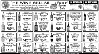 Feast of Saving Sale
