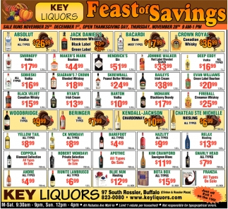 Fall Feast of Savings