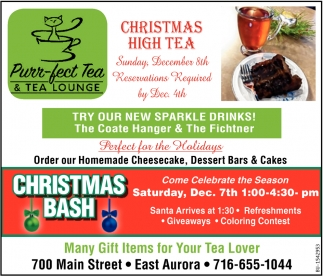 Christmas High Tea