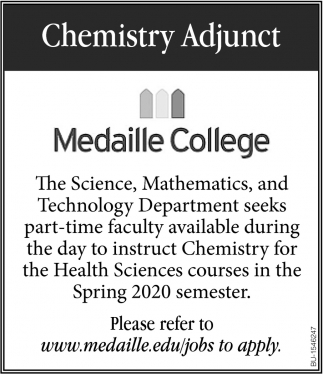 Chemistry Adjunct
