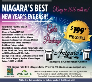 Niagara's Best New Year's Eve Bash!