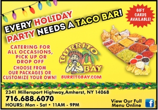 Every Holiday Party Needs a Taco Bar!