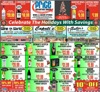 Celebrate the Holidays with Savings