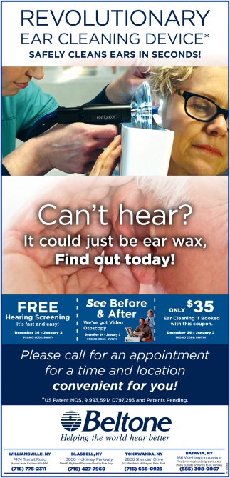 Revolutionary Ear Cleaning Device