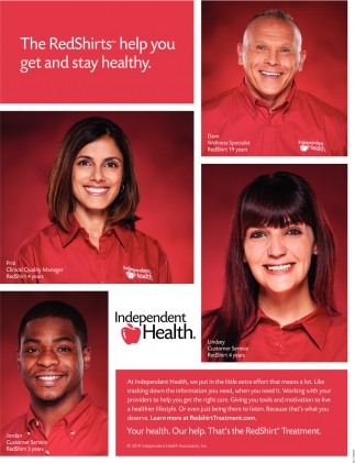 The RedShirts Help You Get and Stay Healthy