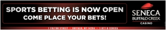 Sports Betting is Now Open