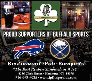 Proud Supporters of Buffalo Sports