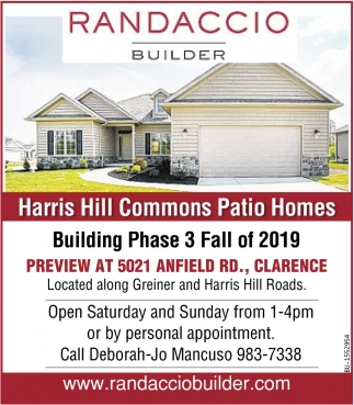 Harris Hill Commons Patio Homes