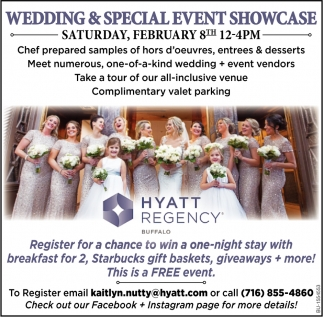 Wedding & Special Event Showcase