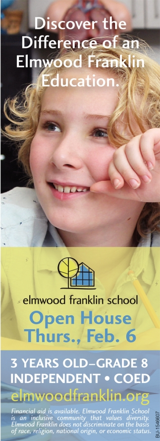 Discover the Difference of an Elmwood Franklin Education