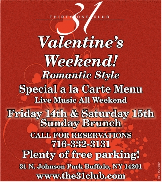 Valentine's Weekend!