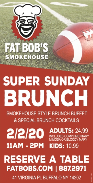 Super Sunday Brunch