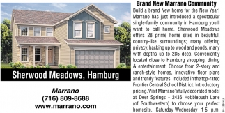 Brand New Marrano Community
