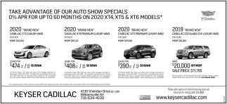 Take Advantage of Our Auto Show Specials